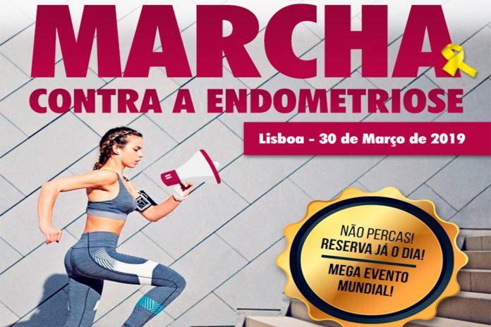 Endometriose com marcha para a consciencialização