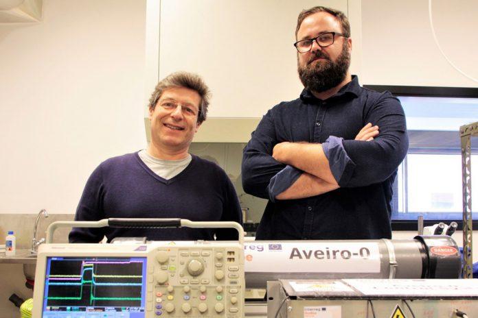 Detetor da Universidade de Aveiro mede radioatividade de Almaraz