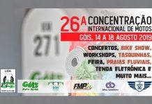 Concentração Internacional de motos em Góis