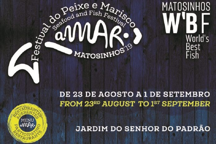 """aMAR Matosinhos é um festival do Peixe e Marisco com a marca """"World's Best Fish"""""""