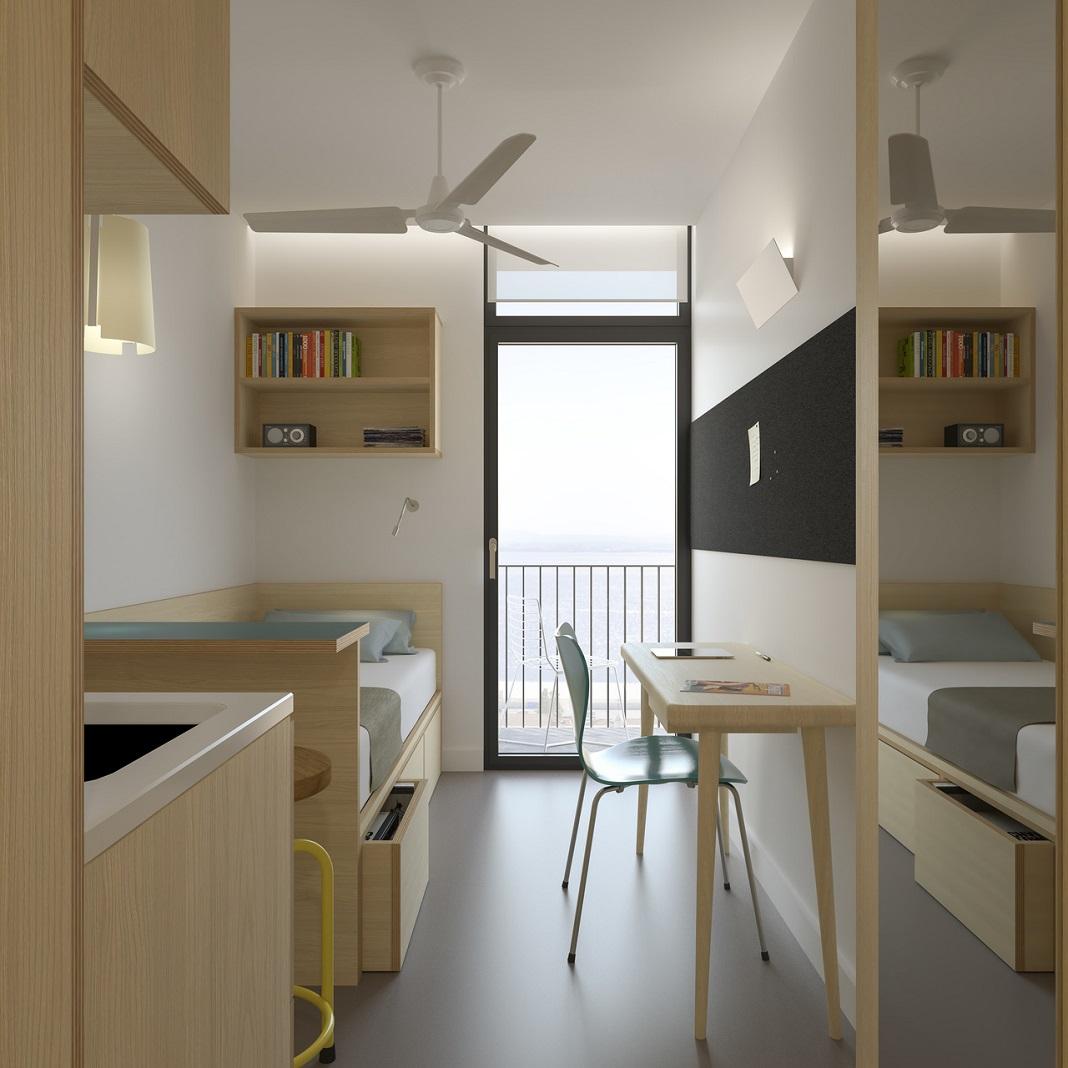 Residência de estudantes em Carcavelos está em construção pela dst