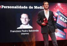 Prémios Meios & Publicidade 2019: Francisco Pedro Balsemão é a personalidade do ano