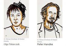 Nobel de Literatura de 2018 atribuído a Olga Tokarczuk e de 2019 a Peter Handke