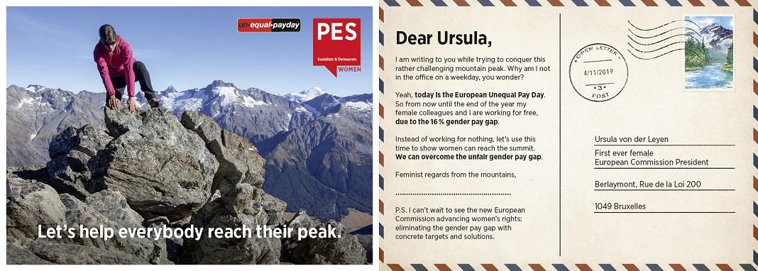 Mulheres socialistas europeias pedem fim da desigualdade salarial.