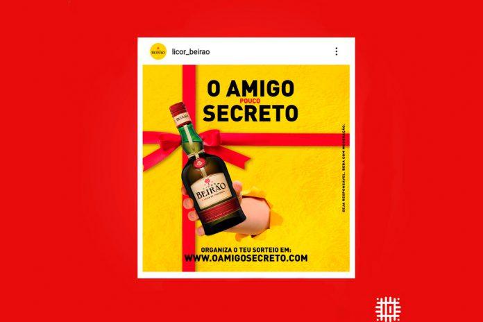 Licor Beirão é neste Natal o Amigo (pouco) Secreto