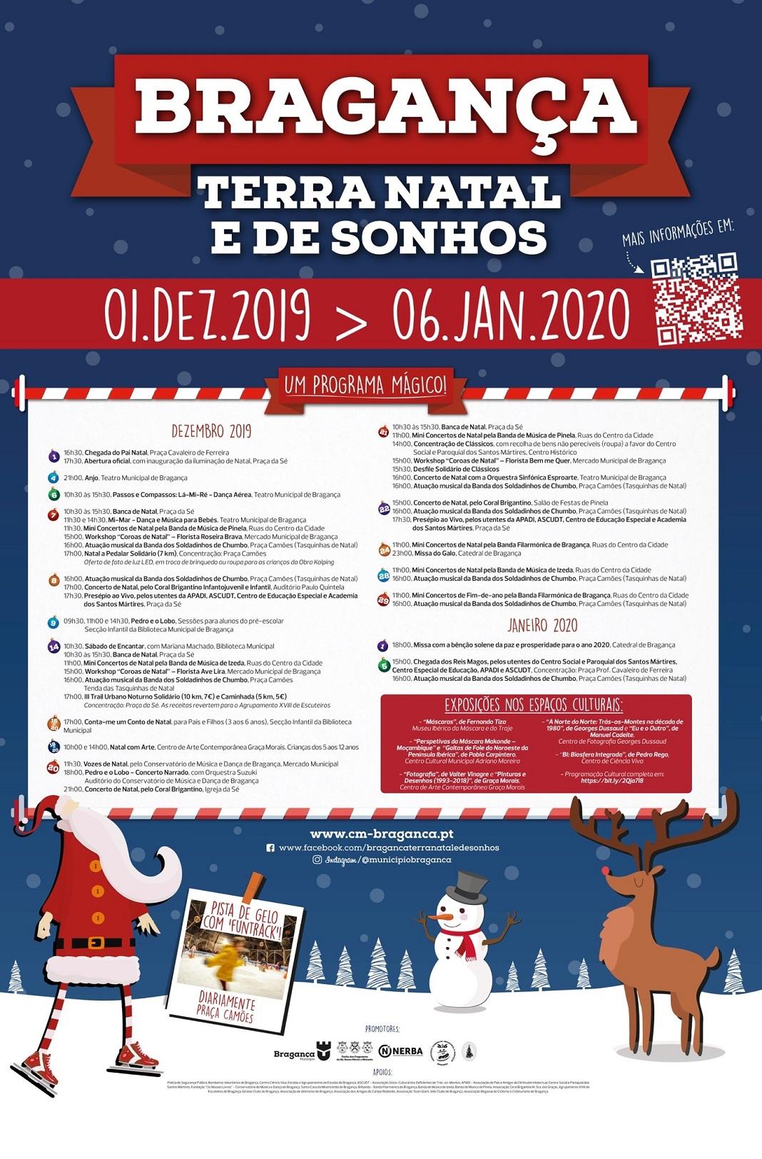 Bragança, Terra Natal e de Sonhos num inverno inesquecível
