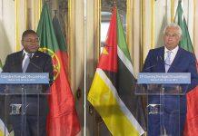 Portugal disponível para ajudar na reconstrução de Moçambique
