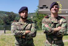 Fuzileiros salvam jovem no rio Mondego, em Coimbra