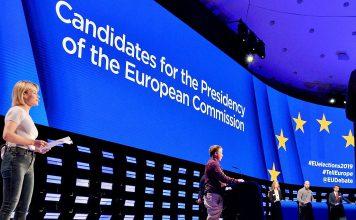 Debate entre candidatos a presidente da Comissão Europeia