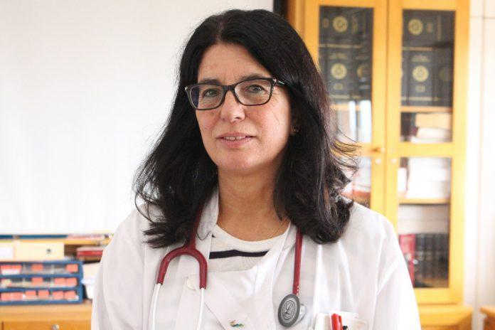 Francisca Delerue, Internista e Membro da SPMI