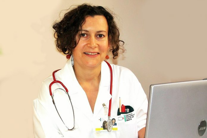 Sofia Ravara, médica pneumologista.