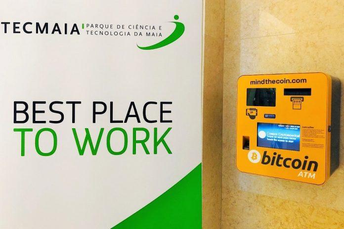 ATM de criptomoedas do Grande Porto está no TECMAIA