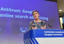Google multada em 1,49 mil milhões de euros pela Comissão Europeia