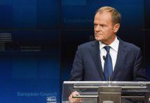 Donald Tusk lamenta adiamento sobre adesão da Macedónia do Norte e a Albânia