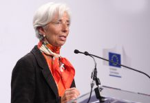 Christine Lagarde nomeada Presidente do Banco Central Europeu
