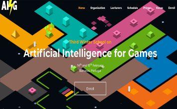 Inteligência artificial para jogos na Escola de Inverno do IPCA