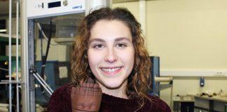 Material em cortiça para impressão 3D desenvolvido por Tatiana Antunes, da UA