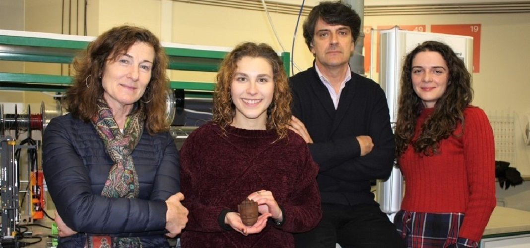 Elisabete Costa, Tatiana Antunes, Martinho Oliveira e Sara Silva