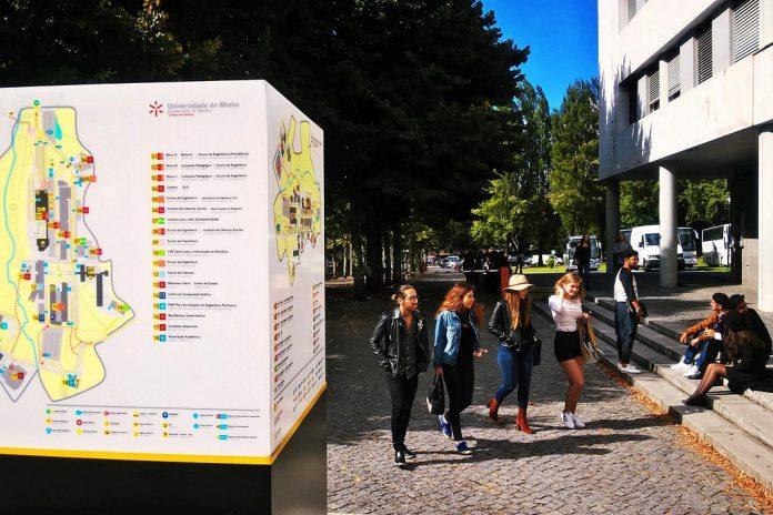Universidade do Minho com 2915 vagas de ingresso em 57 cursos