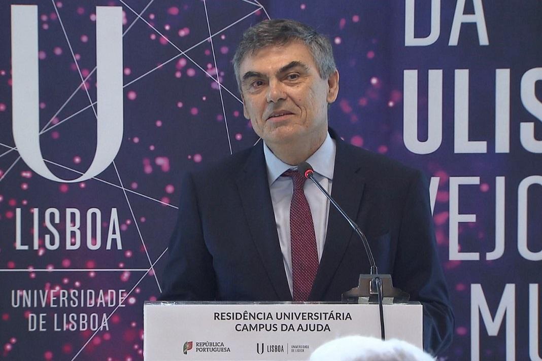 Reitor da Universidade de Lisboa (UL), António Cruz Serra
