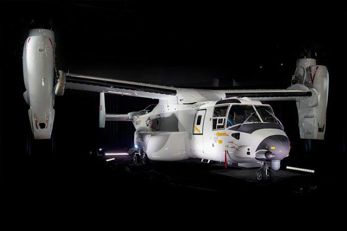 Bell Boeing entrega primeiro V-22 para porta-aviões à Marinha dos EUA