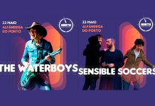 The Waterboys e Sensible Soccers no North Music Festival