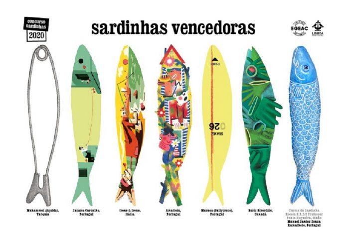 As sardinhas vencedoras das festas de Lisboa