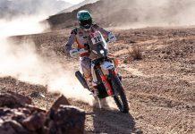 Dakar fez-se sentir no segundo dia com Mário Patrão a resistir