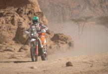 Rali Dakar: Avaria na mota condiciona Mário Patrão na terceira etapa