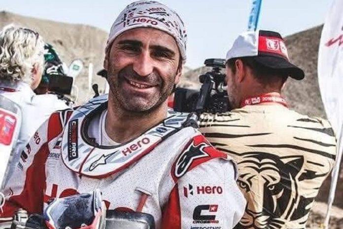 Piloto Paulo Gonçalves morreu hoje devido a queda no Rali Dakar