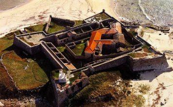 Forte da Ínsua, em Caminha, concessionado à Diverlanhoso