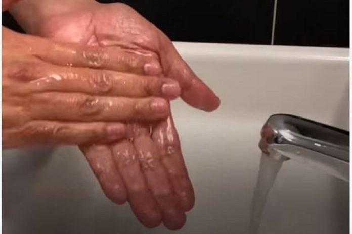 Frequência de lavagem das mãos está a diminuir