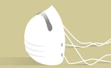 Melhores máscaras comunitárias combinam dois tecidos