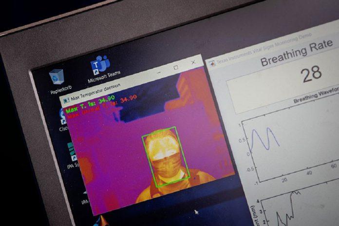 Instituto Fraunhofer desenvolve detetor de pessoas com COVID-19 à distância
