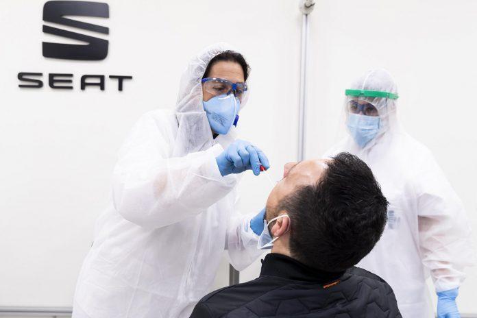 SEAT reinicia produção com testes à COVID-19 a todos os empregados