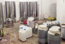 Apreendidas milhares de toneladas de alimentos e bebidas alcoólicas