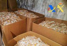 Fábrica ilegal de tabaco encerrada e presos 7 suspeitos em Espanha