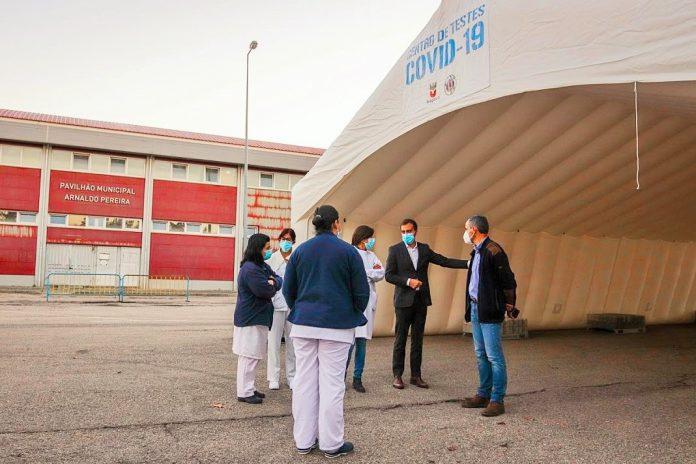 Bragança melhora condições de segurança para testes COVID-19