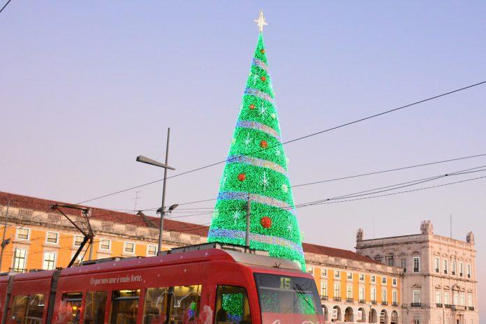 Iluminações de Natal já acendem em Lisboa