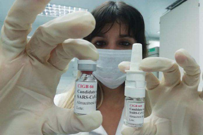 Duas vacinas cubanas contra a COVID-19 entram em testes clínicos