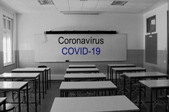 Coronavírus retira alunos e professores das escolas