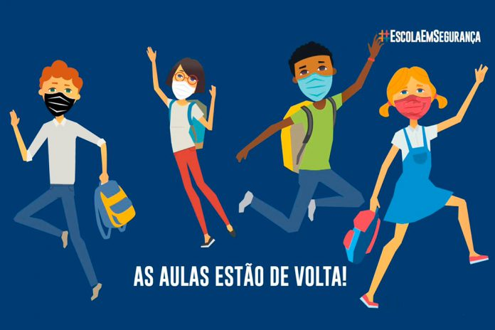 Vídeos e cartaz da campanha de sensibilização #EscolaEmSegurança