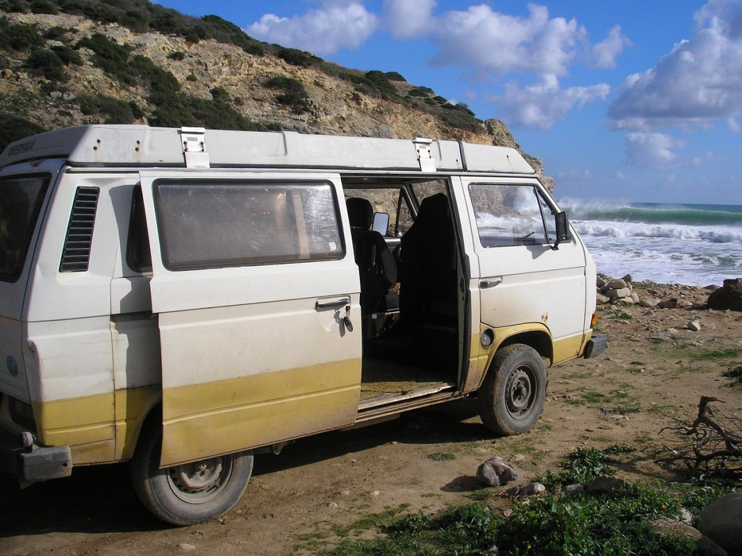 Carrinha caravana VW T3 Westfalia