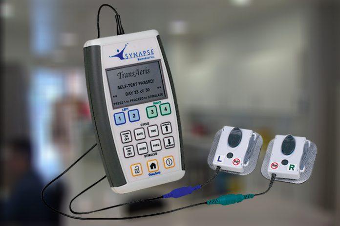 Dispositivo de estimulação respiratória para pacientes de COVID-19