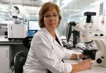 Vitória Rodrigues, microbiologista clínica