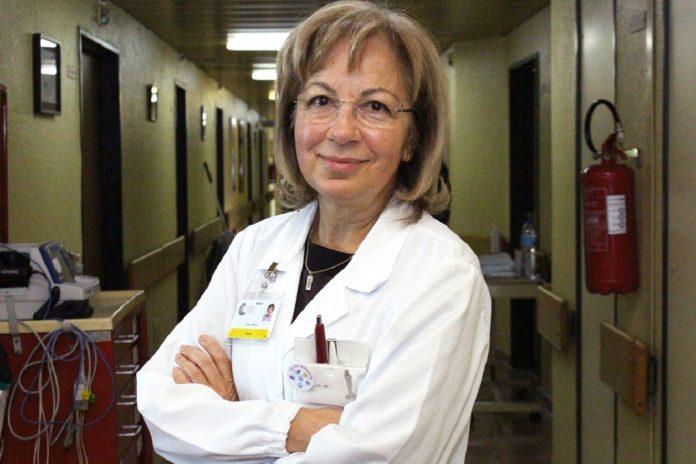 Lèlita Santos, Vice-Presidente da SPMI, Chefe de Serviço de Medicina Interna do CHUC e Professora da Faculdade de Medicina da Universidade de Coimbra