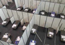 COVID-19: Bragança instala mais 74 camas no pavilhão municipal