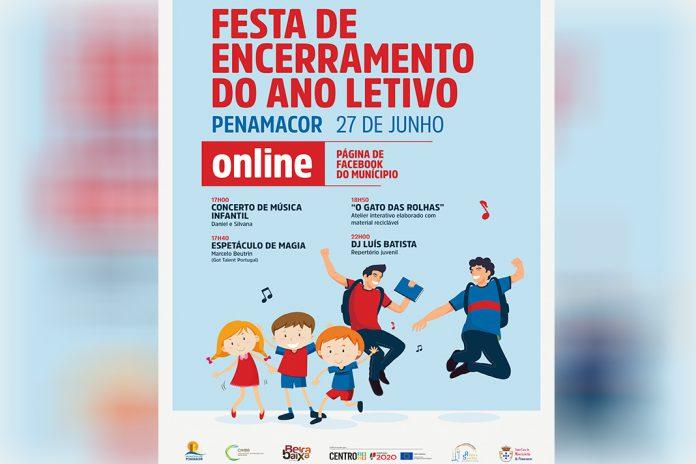 Festa de Encerramento do Ano Letivo Online em Penamacor
