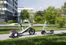 BMW apresenta novos conceitos de trotinetas elétricas