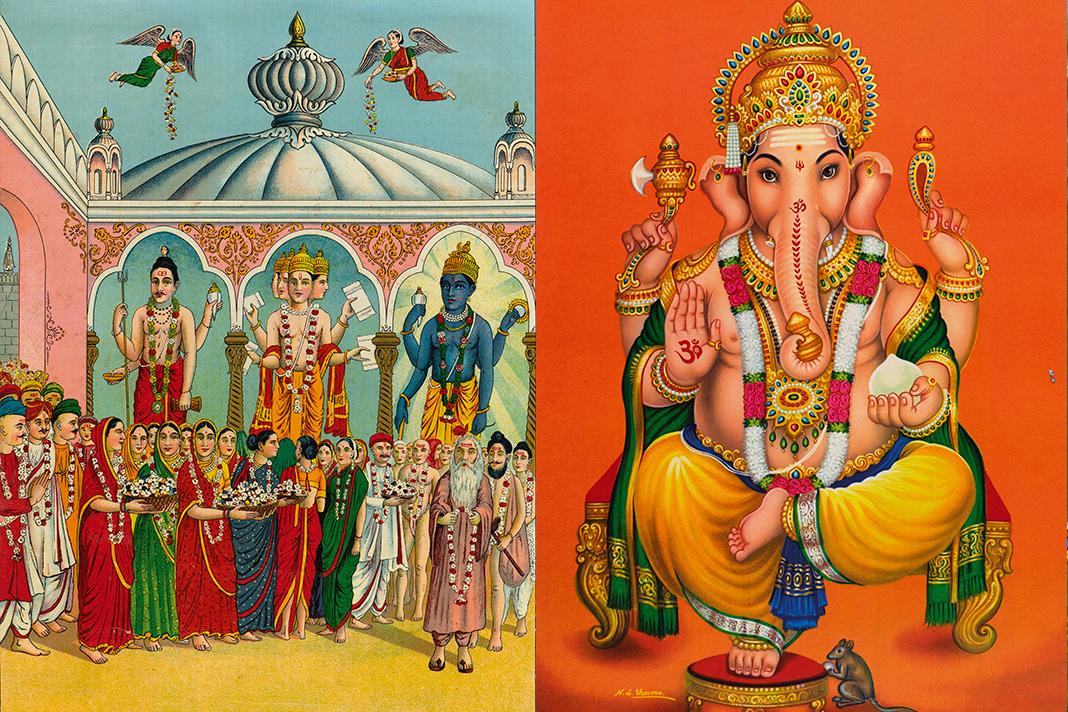 Exposição de Cartazes da Índia no Museu do Oriente